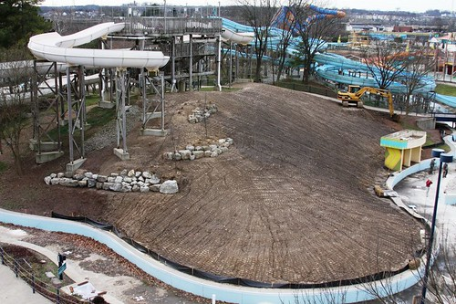 Soak City construction