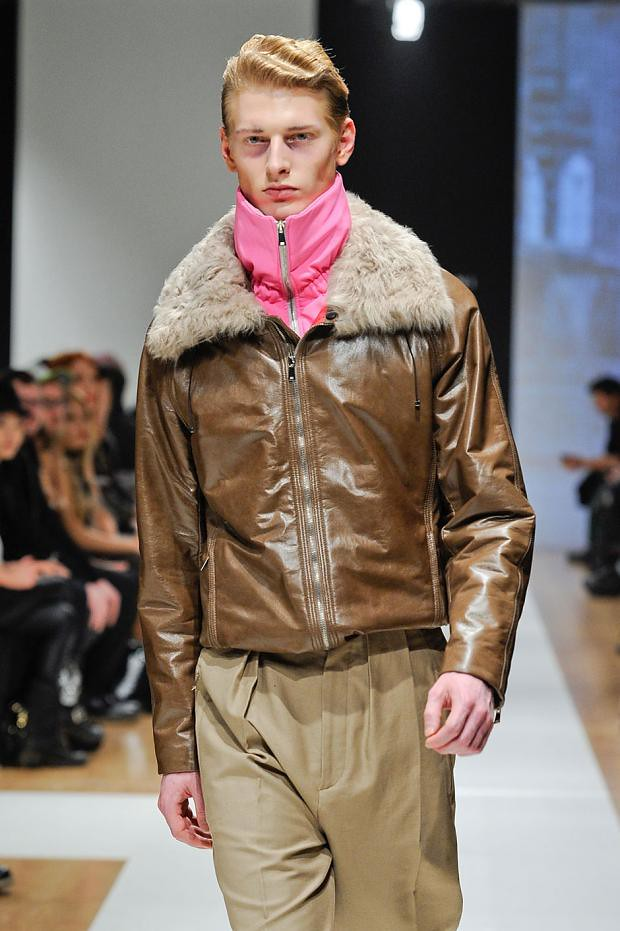 Diederik Van Der Lee3163_4_FW12 Milan Gazzarrini(Homme Model)
