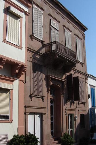 Burhaniye day 2 (Ayvalik): old brown-redish house