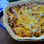 2012-01-03 Turkey Chili Cornbread Bake 068