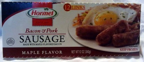 Dave's Cupboard: Hormel Bacon & Pork Sausage