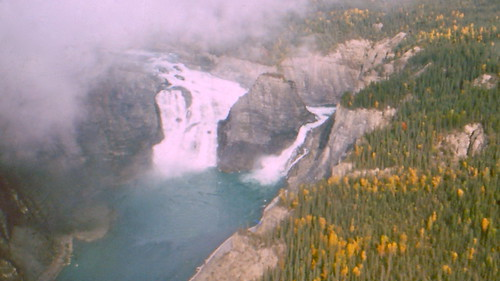 Virginia Falls in the Nahanni National Park