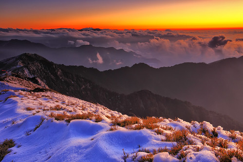twilight Hehuanshan 日暮合歡