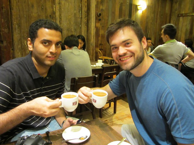 anish and josh in singapore