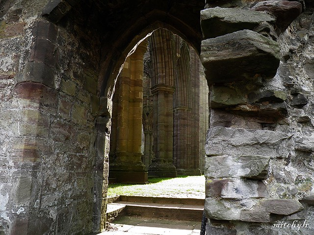 Glimpse Of Pillars