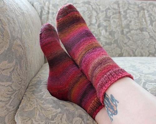 Sugared Beets Socks