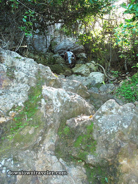 Curacao Mt Christofell Hike rocks r