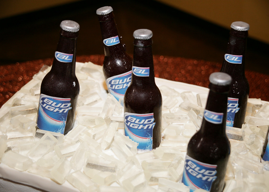 Bud Light Cooler Cake | Photos by Cunningham Photo Artists | Flickr