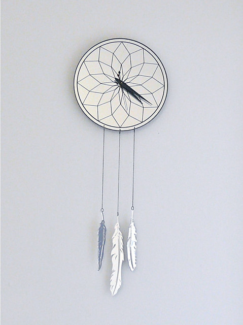 dream cather clock