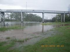 Lions Park Rail Bridge Burnett River