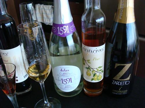Dessert wine tasting