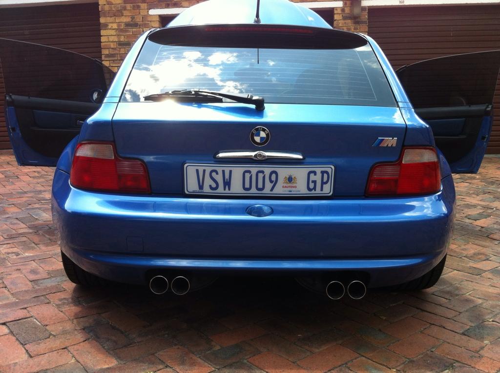 1999 M Coupe Estoril Blue Estoril Black Coupe