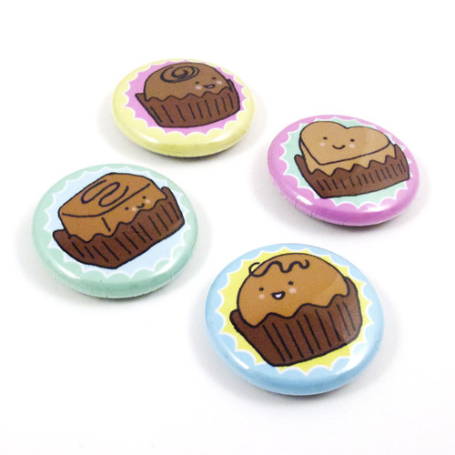 Bonbon Button Set