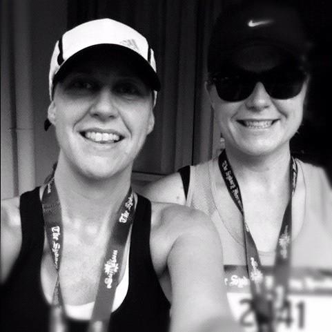 Happy sun runners