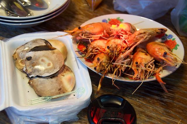 扇貝+大頭蝦