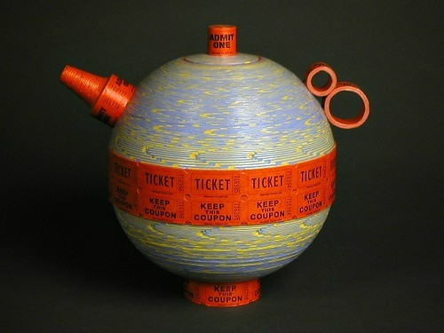 Ticket Roll Teapot