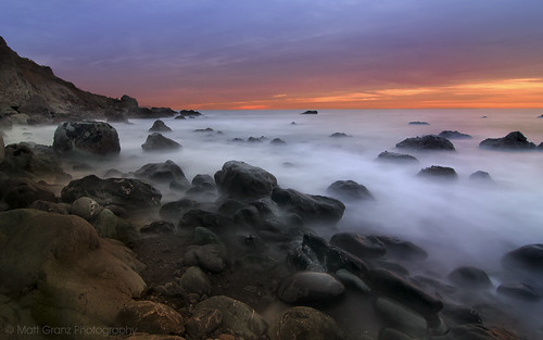 ocean california sunset wallpaper seascape motion blur beach nature misty clouds landscape rocks long exposure pacific earth postcard alien shoreline marincounty muir hwy1 mattgranz