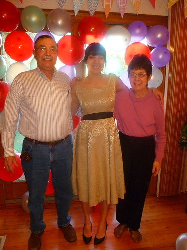 Dad, Sara, & Mom - 2/5/12