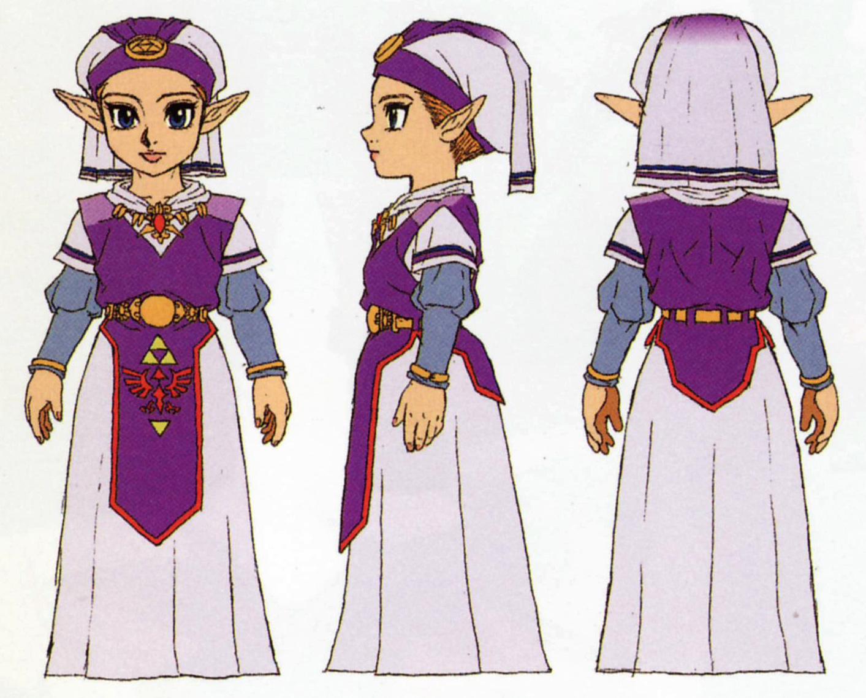 OoT Child Zelda
