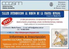 Inscripción 2012 - Taller de dibujo con modelo vivo - CCGSM by dibujoccgsm