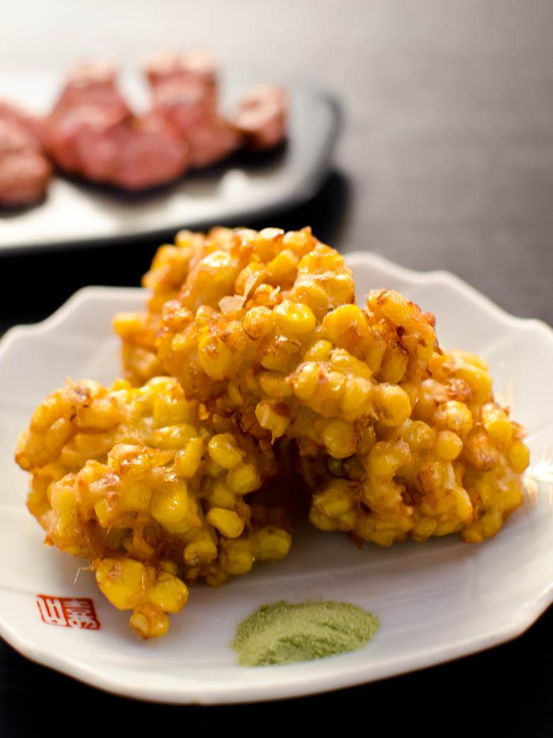 Izakaya Den - Sweet corn 'kaki-age' $7