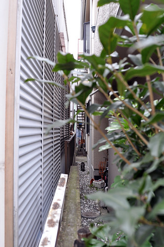The alley of Arakawa-ku