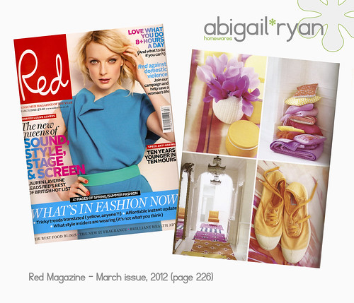 Red Magazine Press for abigail*ryan...