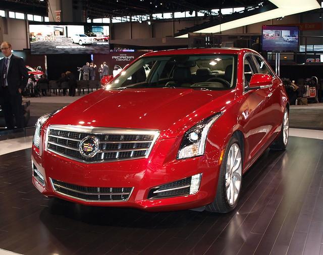 2013 Cadillac ATS 5