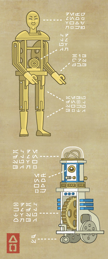 C-3PO-and-Karakuri-D2