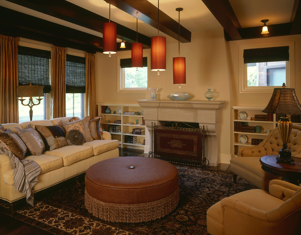 Cozy Living Room With Fireplace Cozy Warm Living Room With A