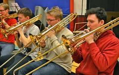 Paul Duffy i trombonsektionen...?