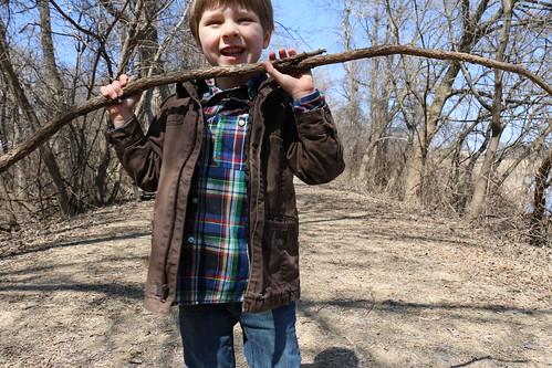 a nice stick
