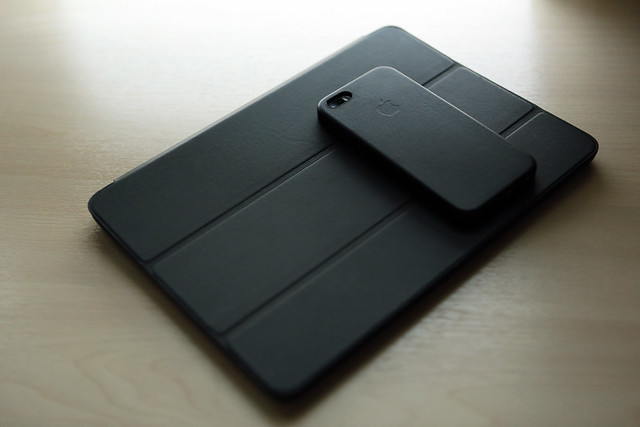 Apple (Black) Leather Cases - 6 Months On