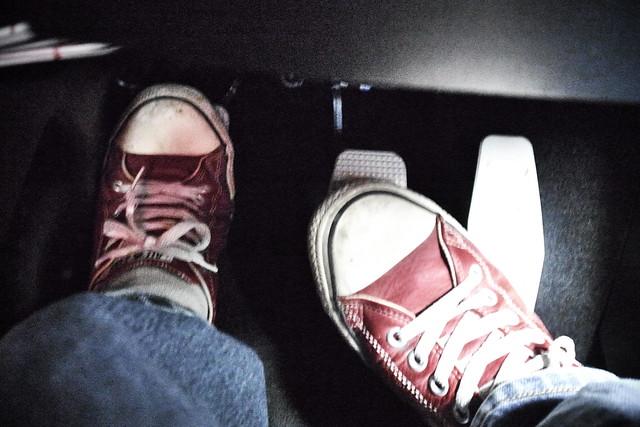 heel and toe