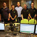 The team behind the new Cambridge 105 Studio A installation by rmc47