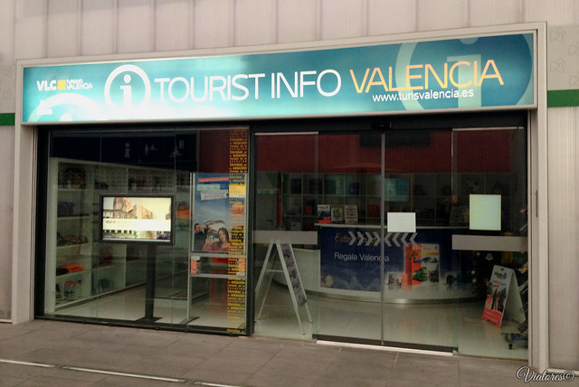 Tourist info. Valencia. Spain
