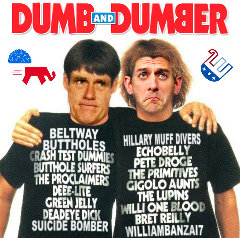 GOP DUMB AND DUMBER