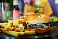 The Frenchman Burger - Caramelized Onion, Dijon Mu…