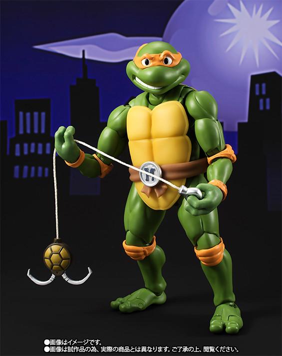 S.H.Figuarts 忍者龜【米開朗基羅。Michelangelo】Teenage Mutant Ninja Turtles