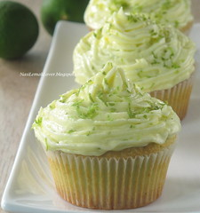 Key Lime Cupcake : Free and Easy Bake-Along #13