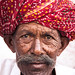 Small photo of Portrait of a local, Jaipur