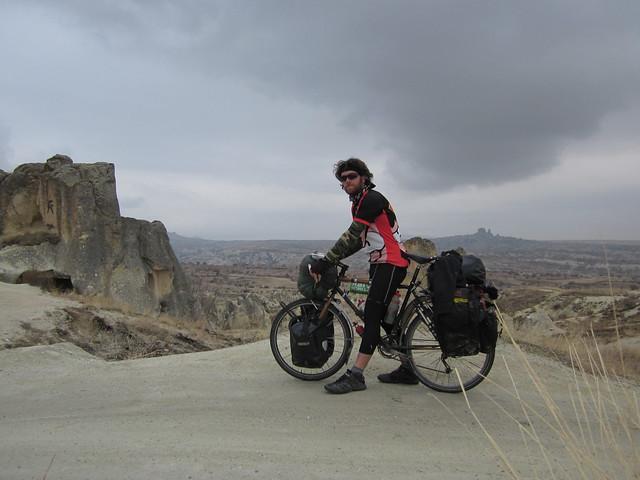 me ın Göreme, Cappadocia
