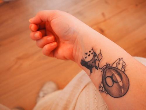 Un Totoro dans la peau