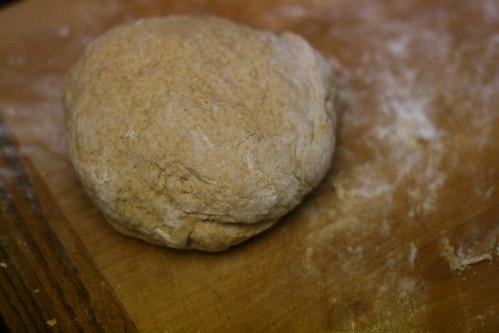 pumpkin roll dough.