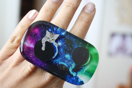 Space Kitty Ring