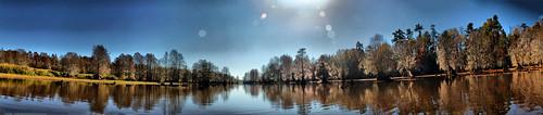 Low Falls Lake Panorama3 Redynamix
