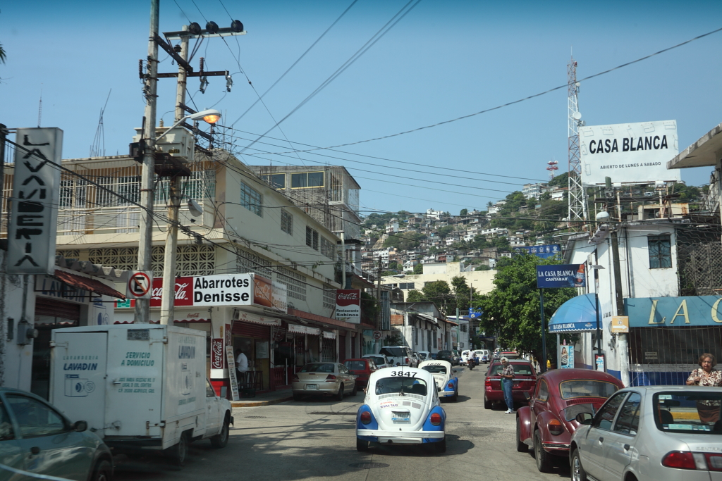 The streets of Acapulco