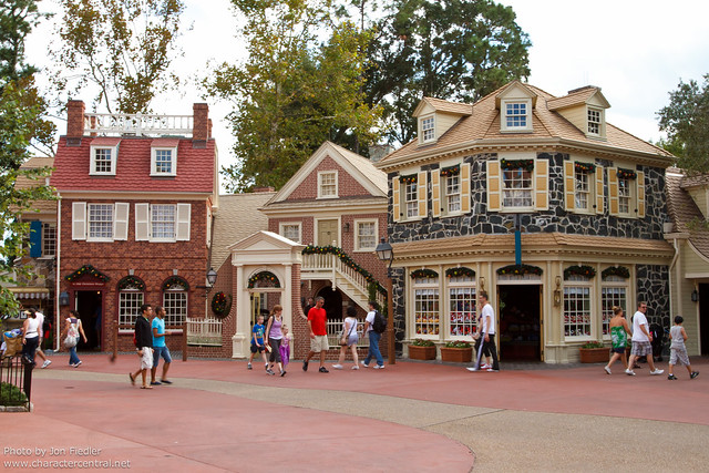 WDW Oct 2011 - Wandering through Liberty Square