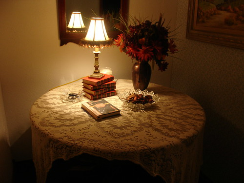 Entry table - Autumn decor