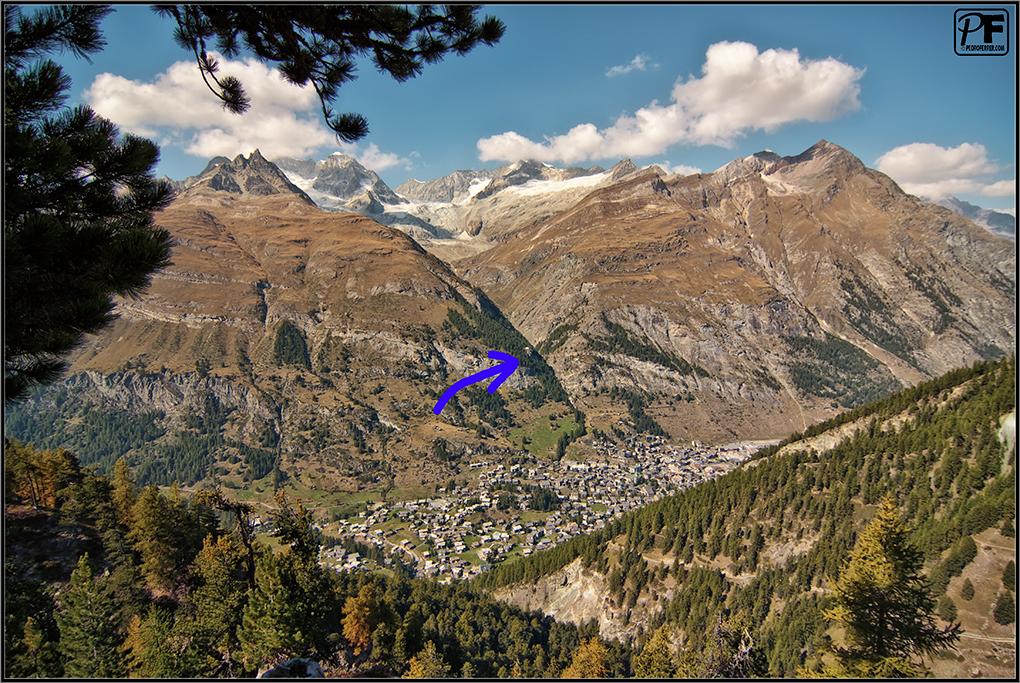 Suiza - Las montañas - Zermatt - panorámica